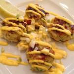 Saffron Crab Cakes
