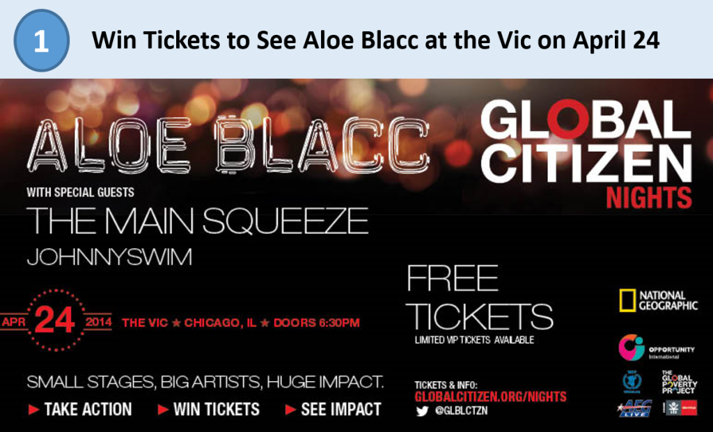 1. Aloe Blacc Tickets