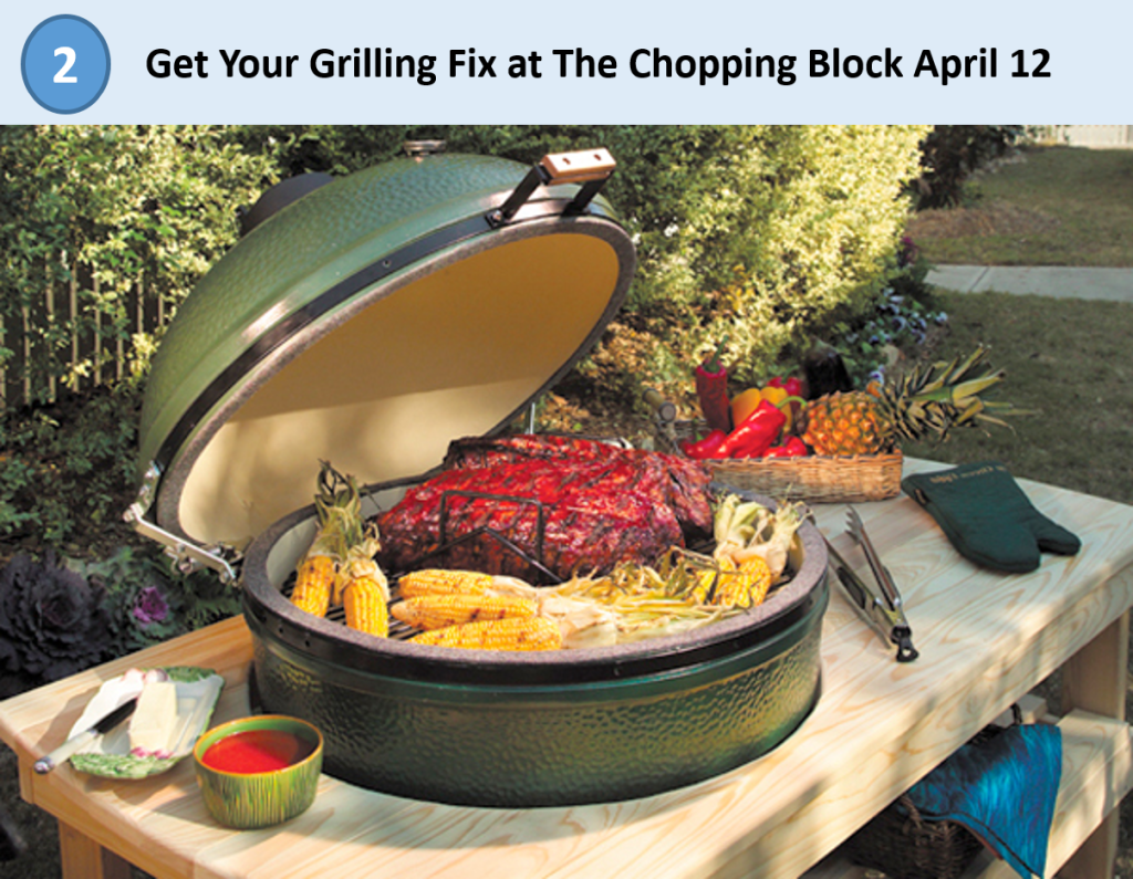 2. Big Green Egg Grill-out