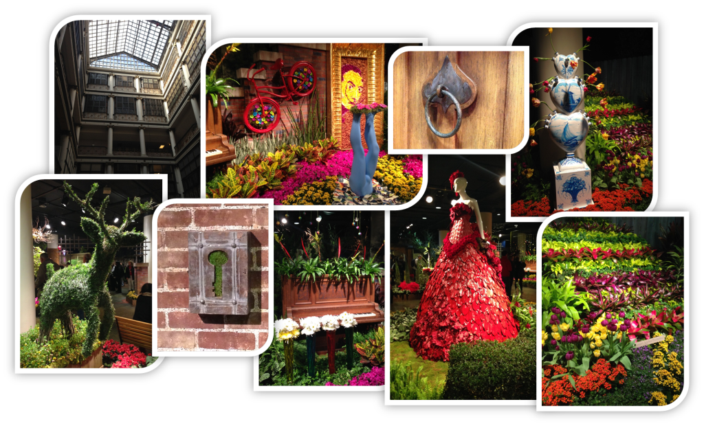 Flower Show Collage