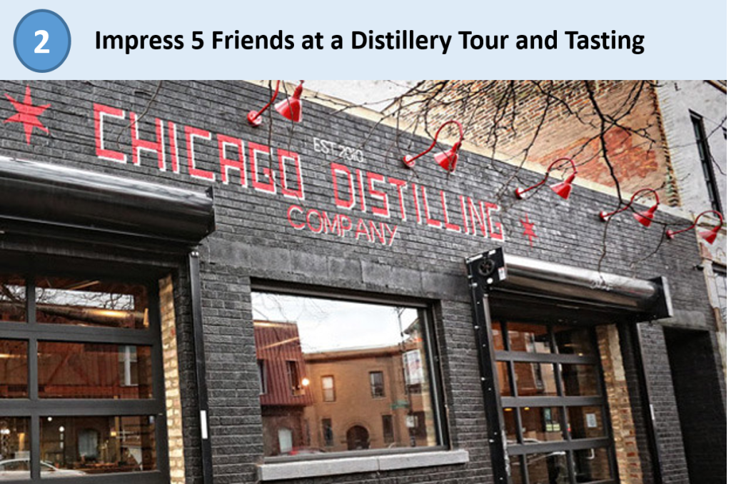 gilt city, chicago distilling company, distillery tour, whiskey tasting