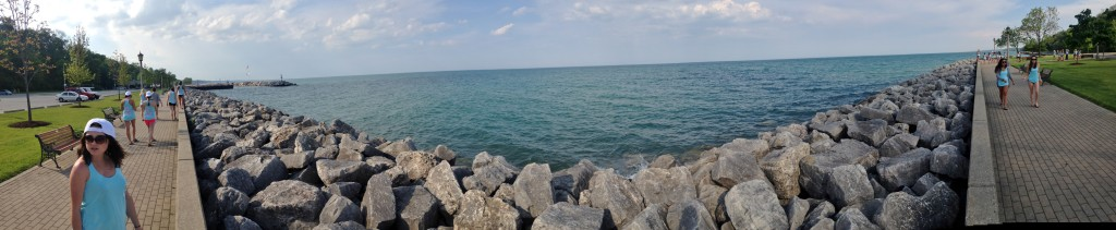 Chicago Beach Panorama