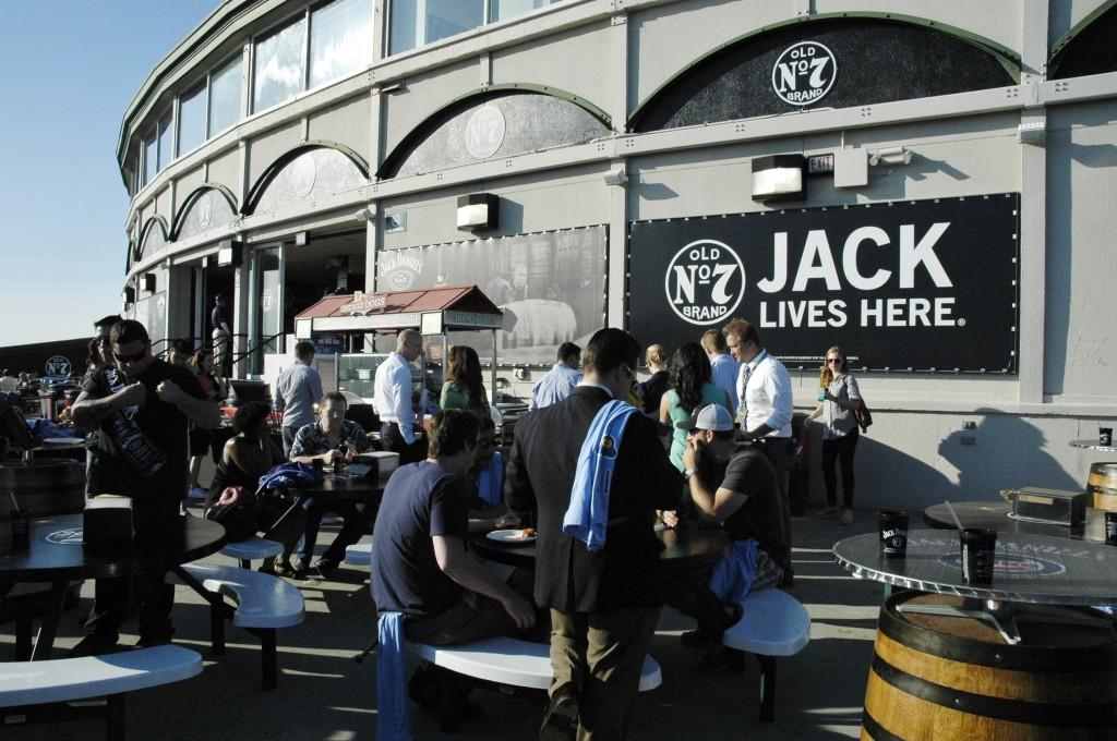 Jack Daniel's Patio at Wrigley Field