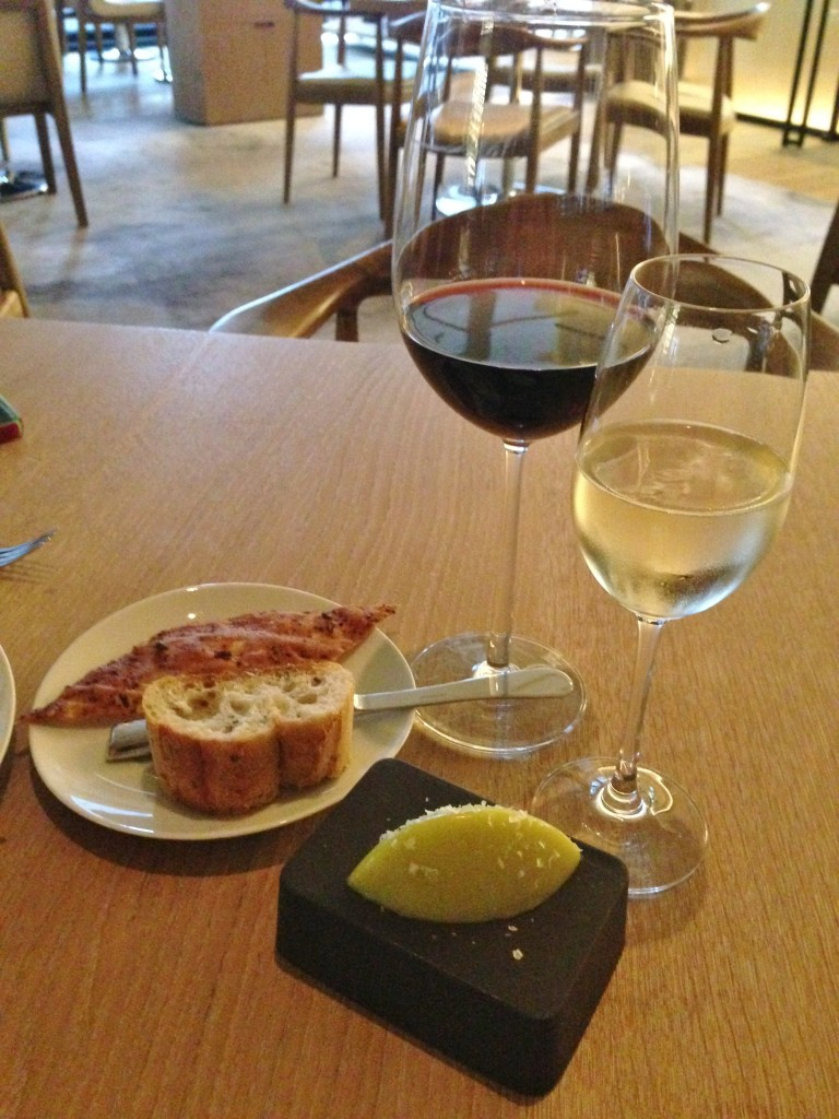 Wine and Bread at Travelle