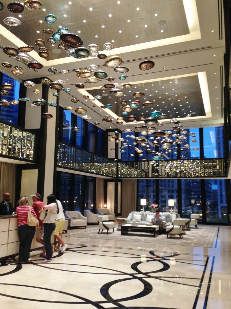 Langham Hotel Lobby